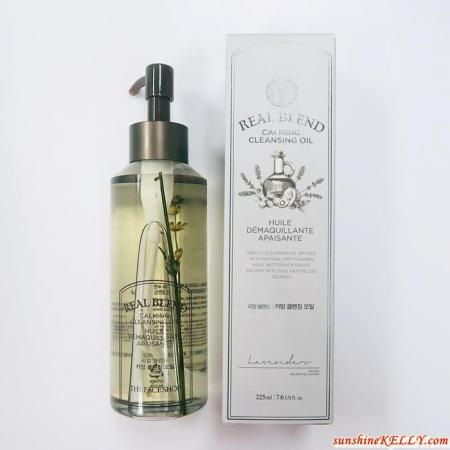 THE FACE SHOP, Real Blend Calming Cleansing Oil, Real Blend Calming Review 5.JPG